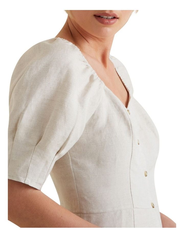 Fitted Puff Sleeve Blouse image 4