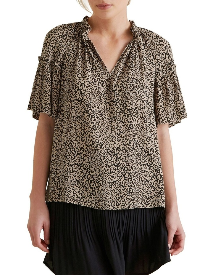 Ocelot Gathered Blouse image 1