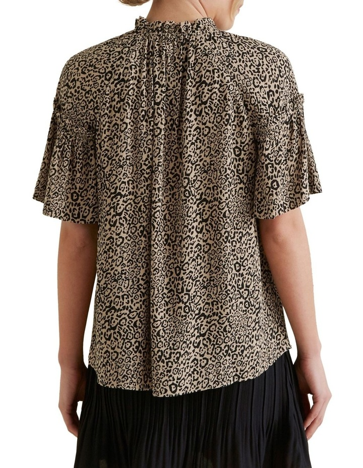 Ocelot Gathered Blouse image 3