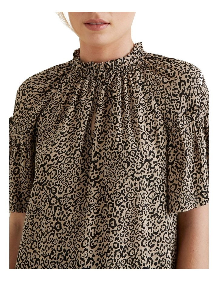 Ocelot Gathered Blouse image 4