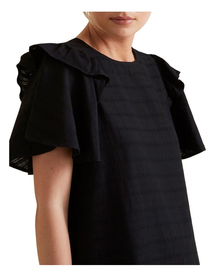 Frill Sleeve Check Blouse image 2