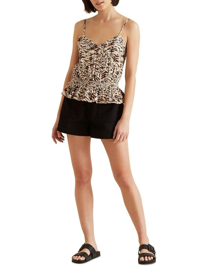 Shirred Waist Animal Cami image 2
