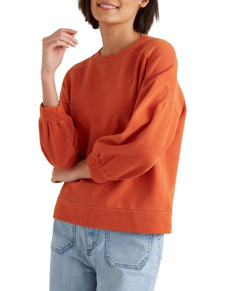 Blouson Sleeve Sweater image 1