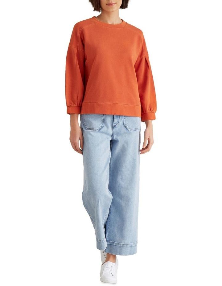 Blouson Sleeve Sweater image 2