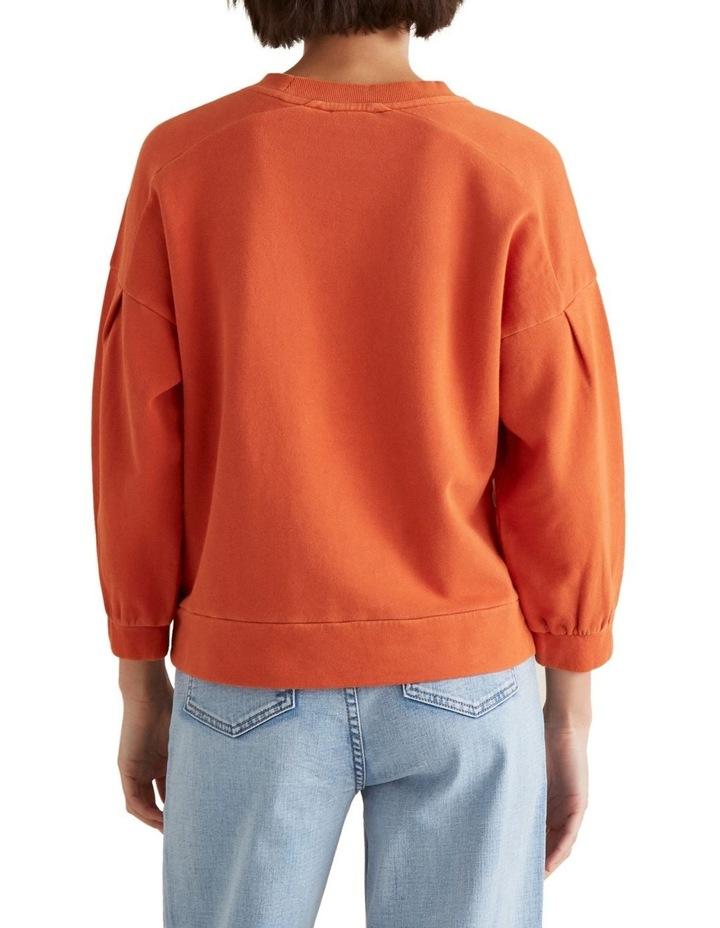 Blouson Sleeve Sweater image 3