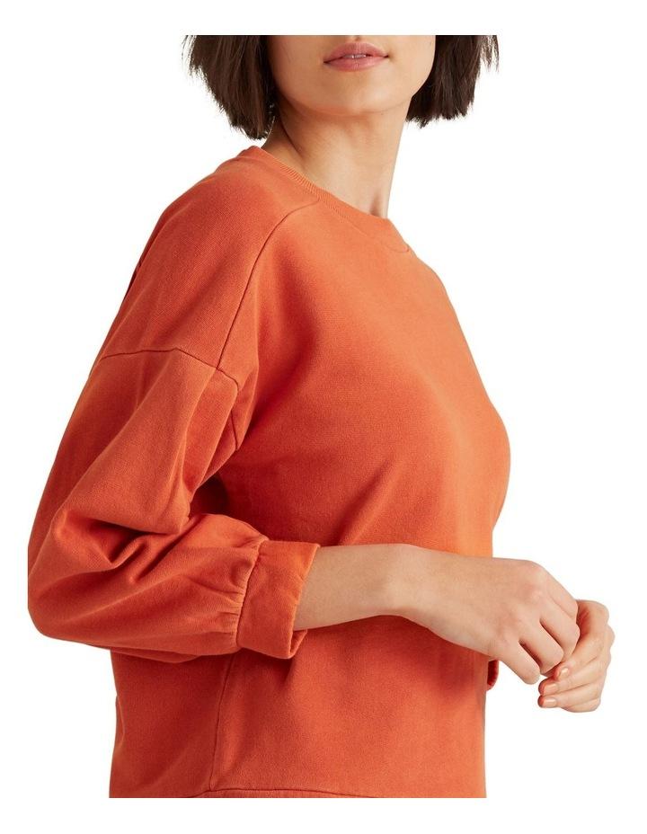 Blouson Sleeve Sweater image 4
