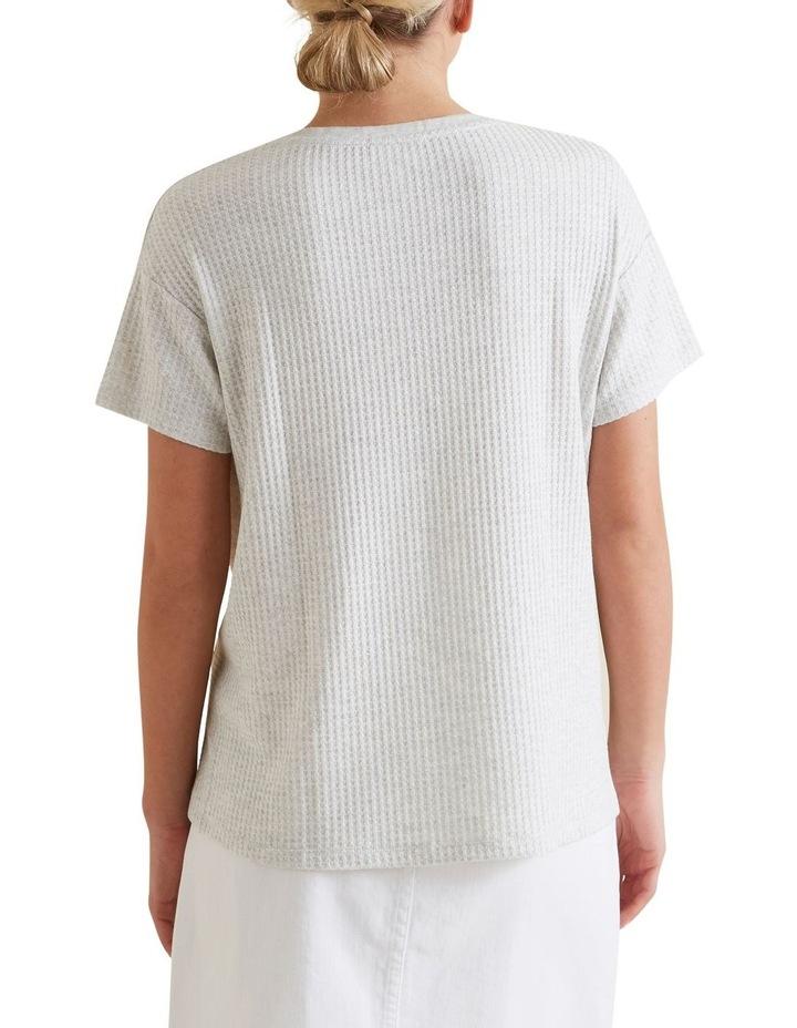 Waffle Insert T Shirt image 3