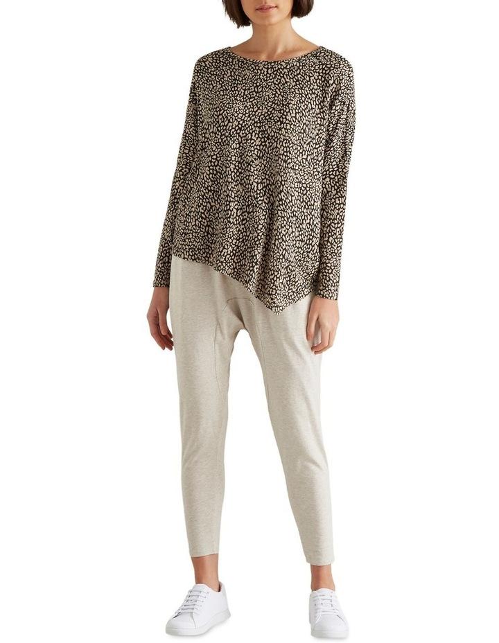 Ocelot Asymmetrical Sweater image 2