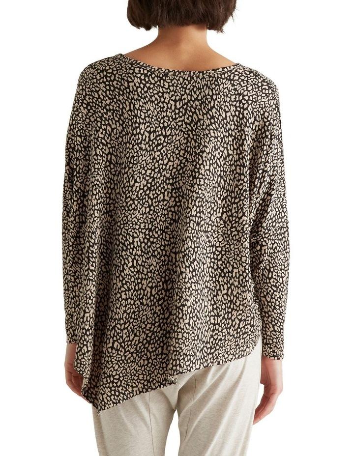 Ocelot Asymmetrical Sweater image 3