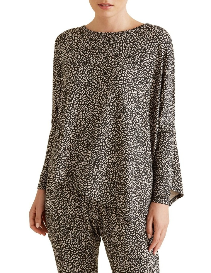 Ocelot Asymmetric Sweater image 1