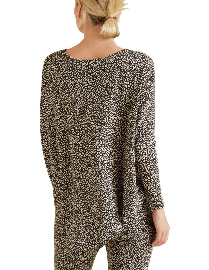 Ocelot Asymmetric Sweater image 3