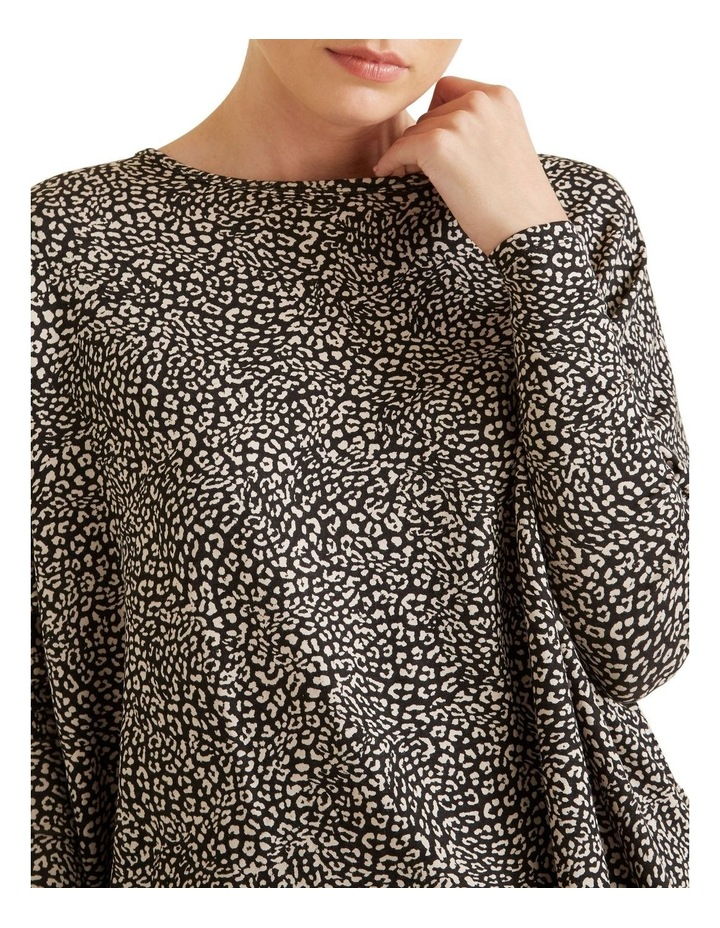 Ocelot Asymmetric Sweater image 4