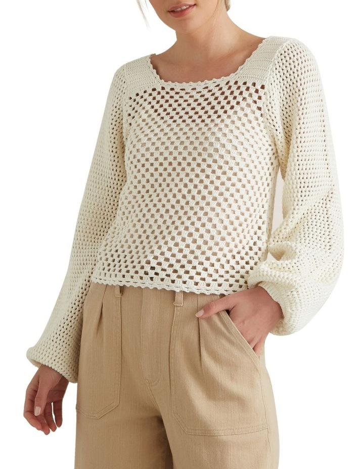Crotchet Sweater image 1
