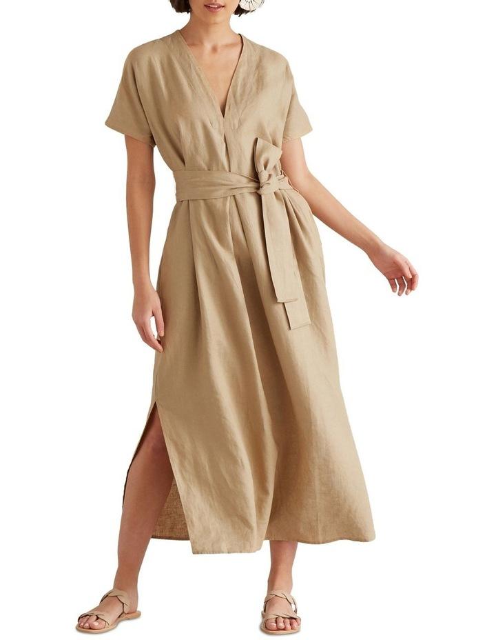 Linen Tie Up Dress image 1