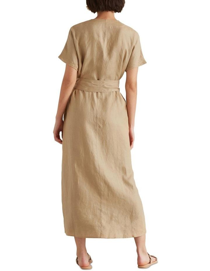 Linen Tie Up Dress image 3