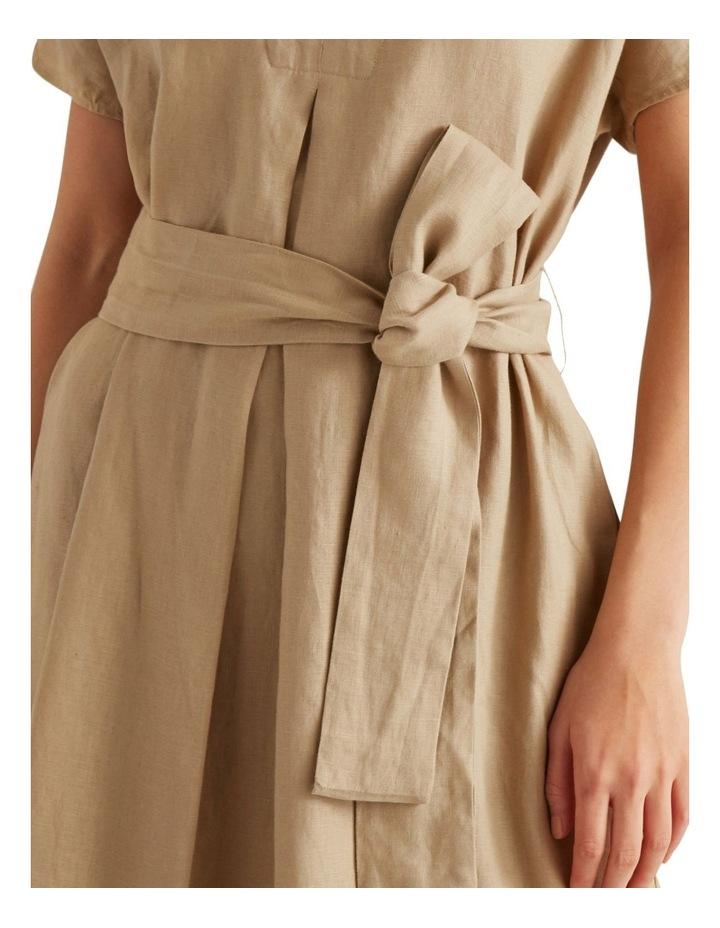 Linen Tie Up Dress image 4