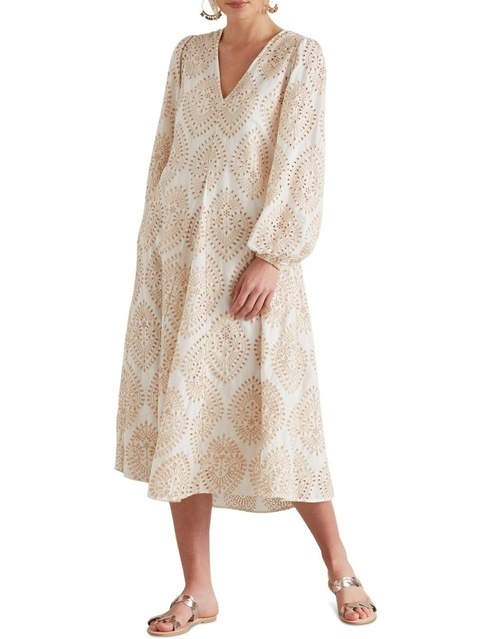Billowing Broderie Dress image 1