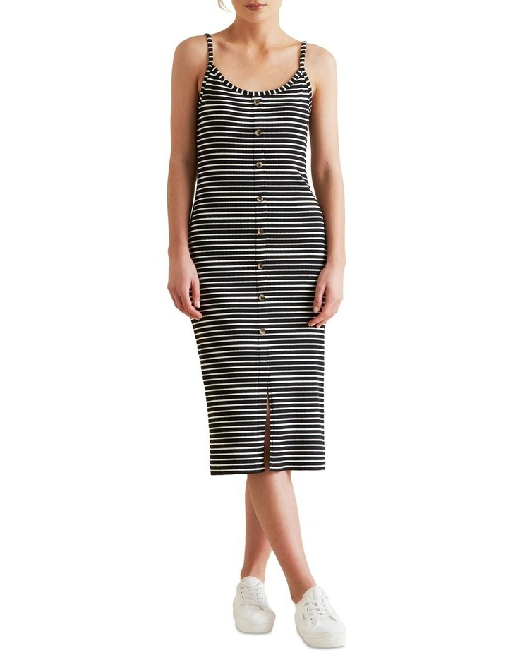 Ribbed Tank Dress image 1