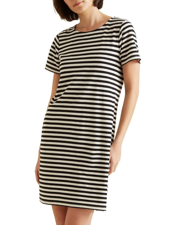 Stripe Pique Dress image 1