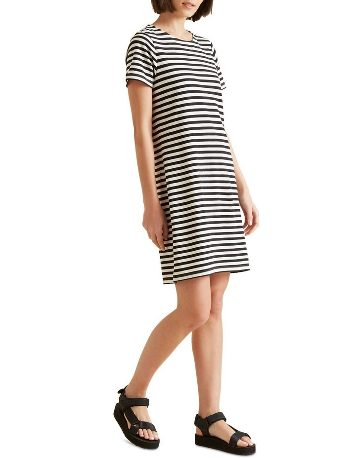 Stripe Pique Dress image 2