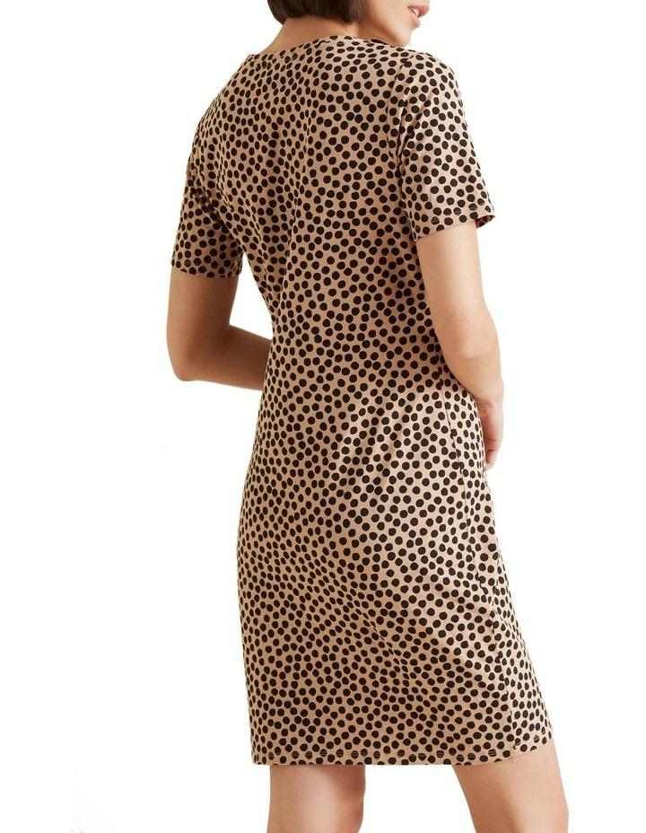 Animal T Shirt Dress image 3