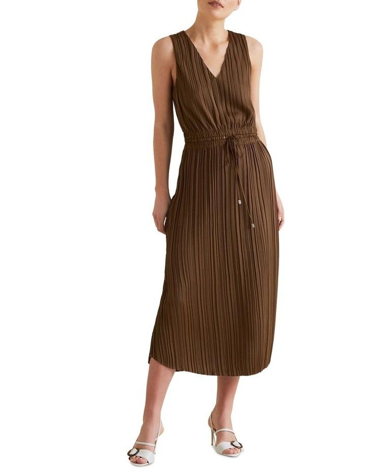 Flowing V Neck Dress image 1