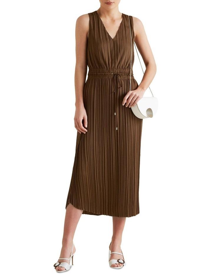 Flowing V Neck Dress image 2
