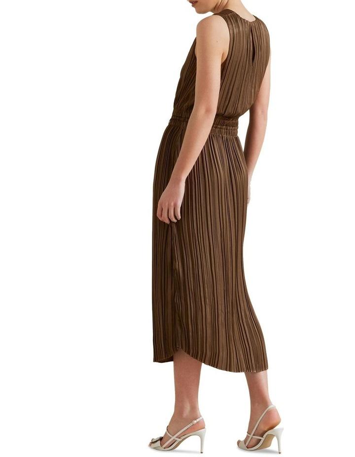 Flowing V Neck Dress image 3