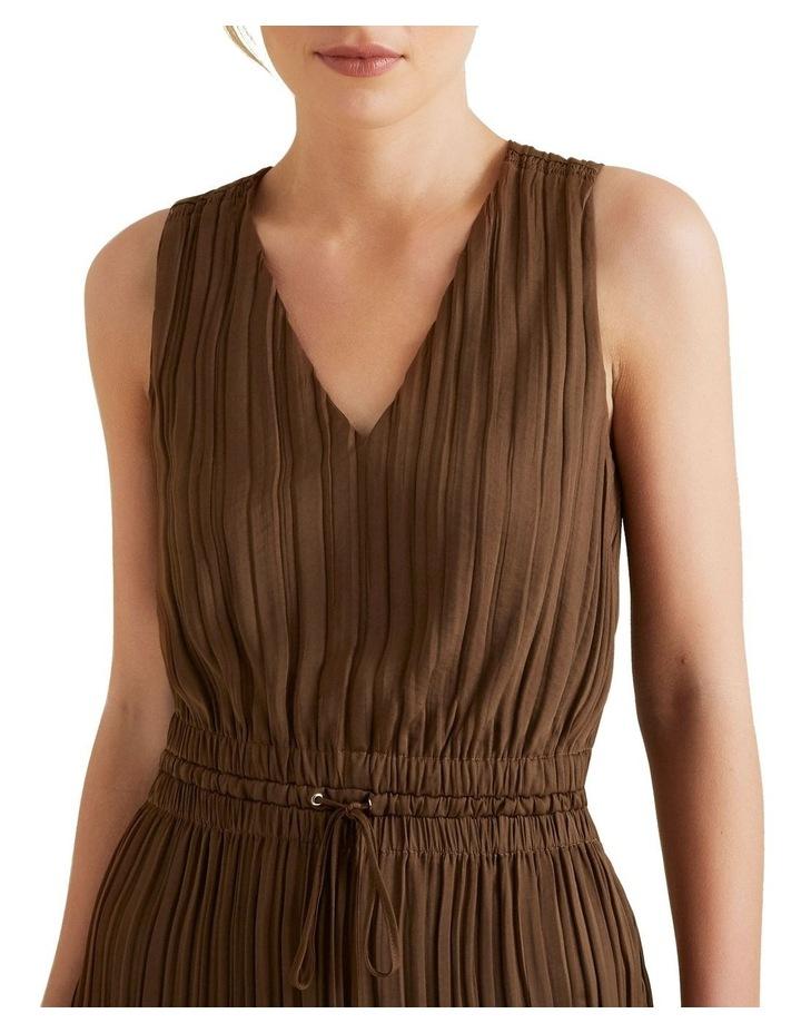 Flowing V Neck Dress image 4