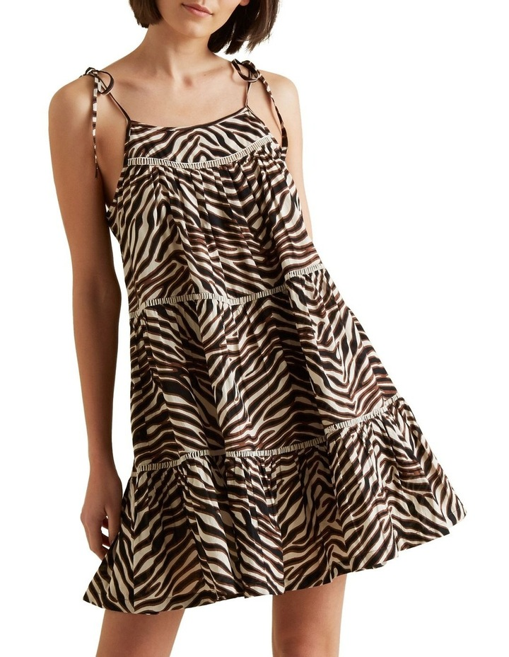 Multi Zebra Dress image 1