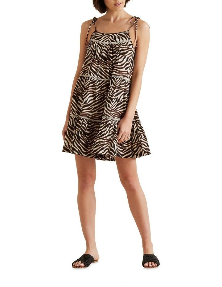 Multi Zebra Dress image 2