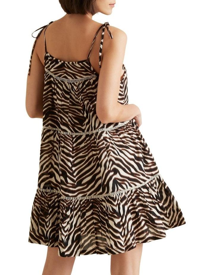 Multi Zebra Dress image 3