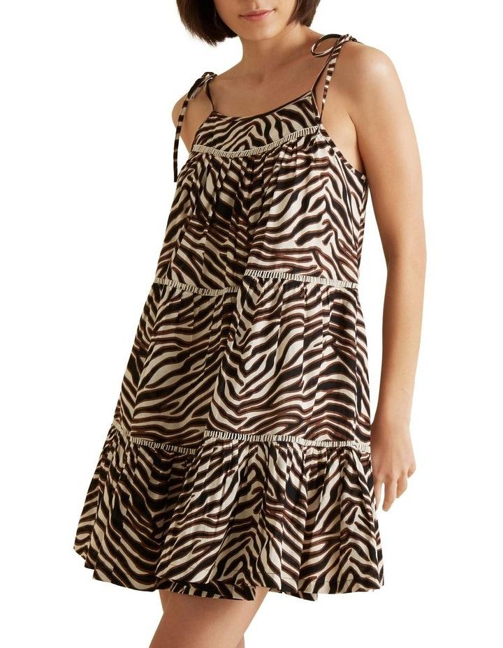 Multi Zebra Dress image 4
