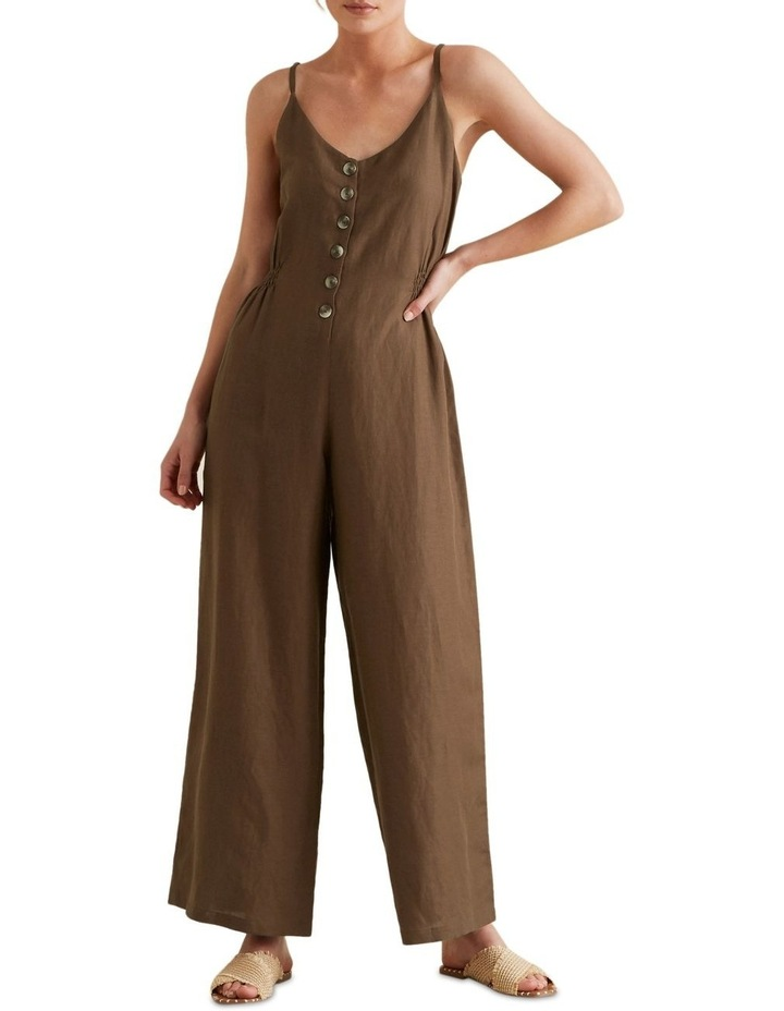 Shirred Waist Jumpsuit image 1