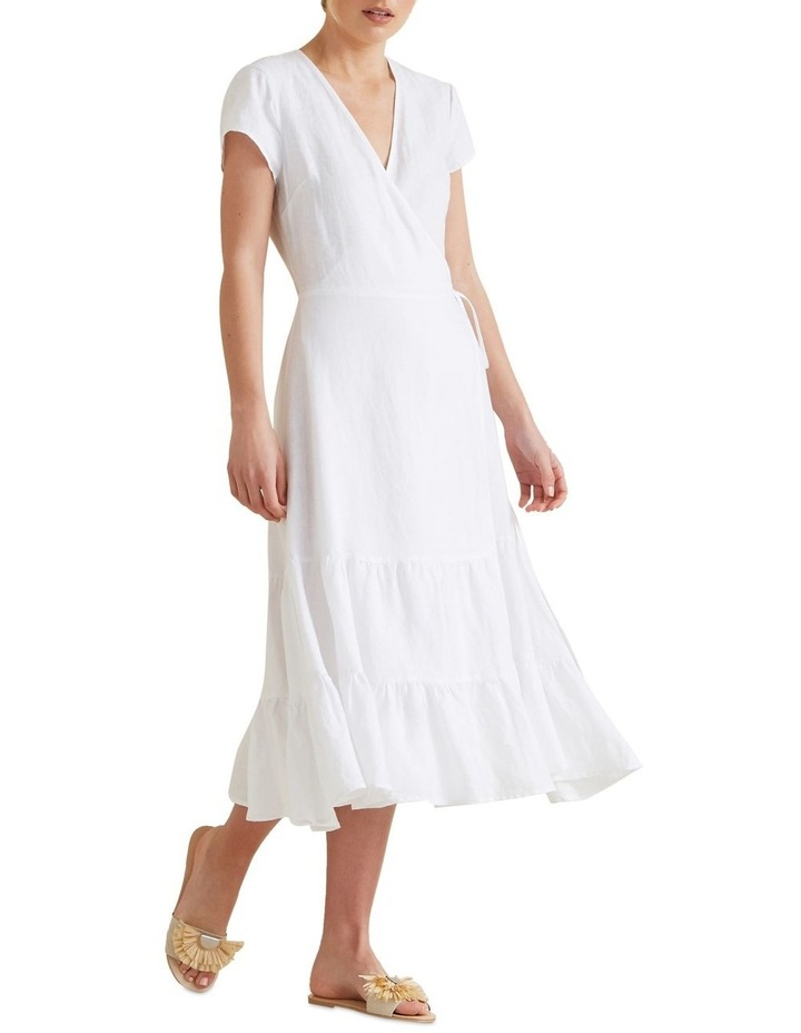 Wrap Front Tiered Dress image 1