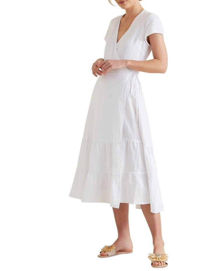 Wrap Front Tiered Dress image 2