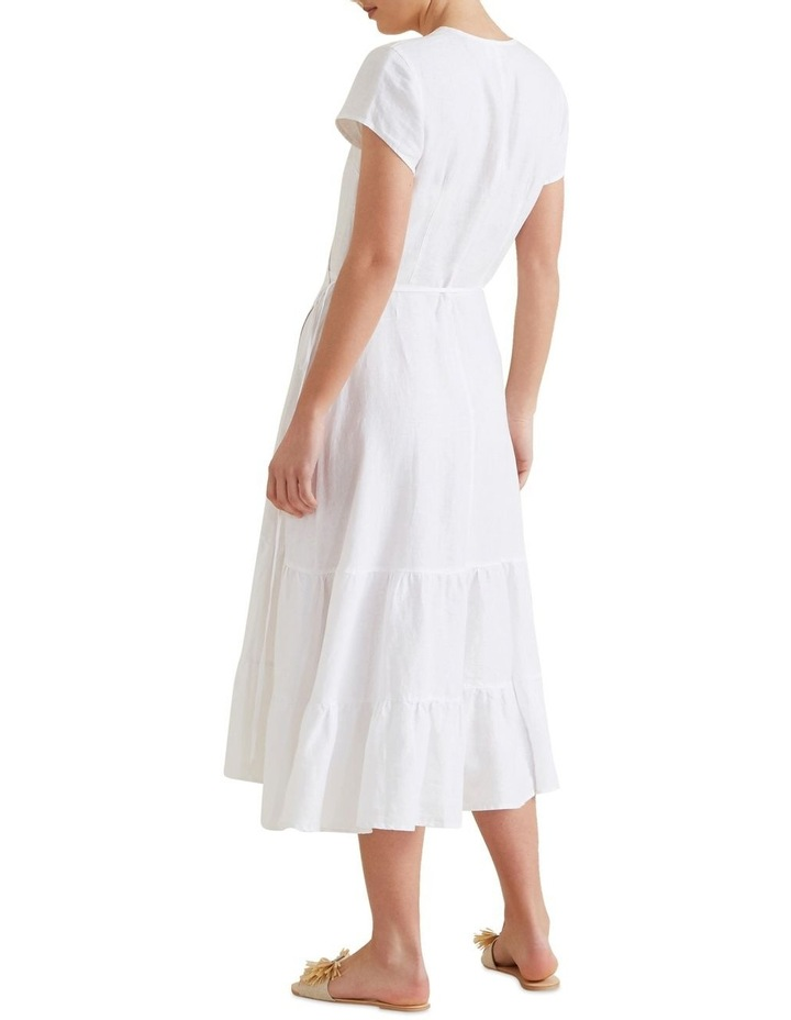 Wrap Front Tiered Dress image 3