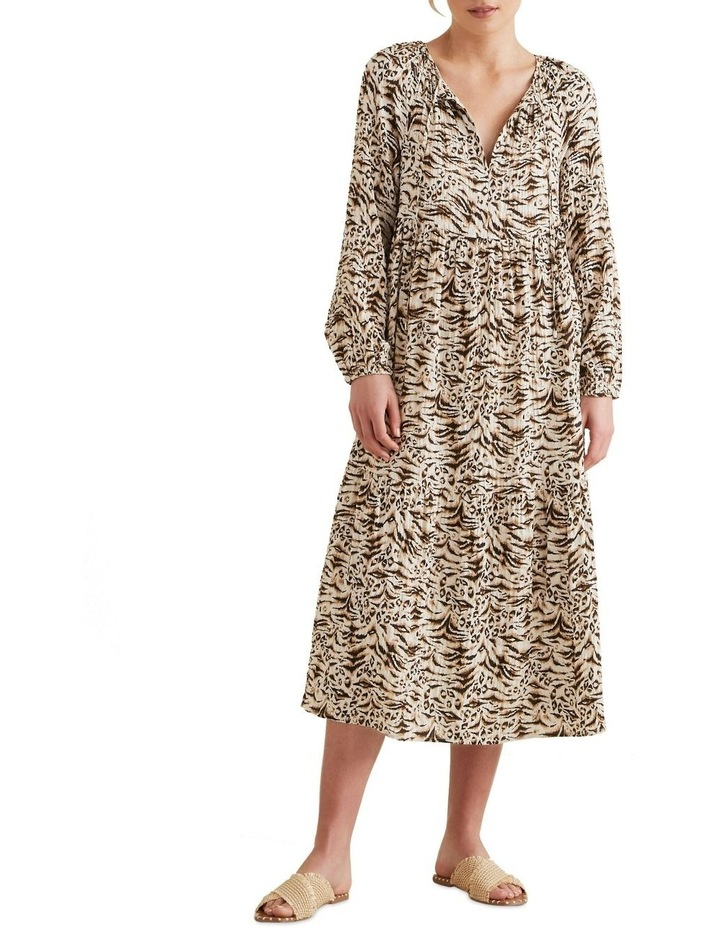 Resort Animal Print Dress image 1