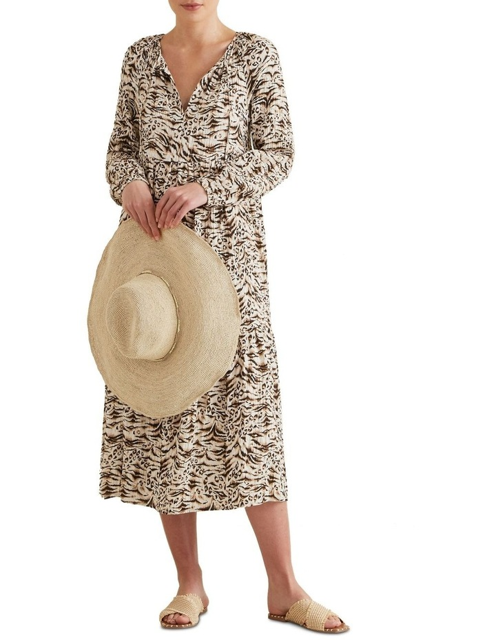 Resort Animal Print Dress image 2