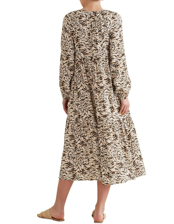 Resort Animal Print Dress image 3