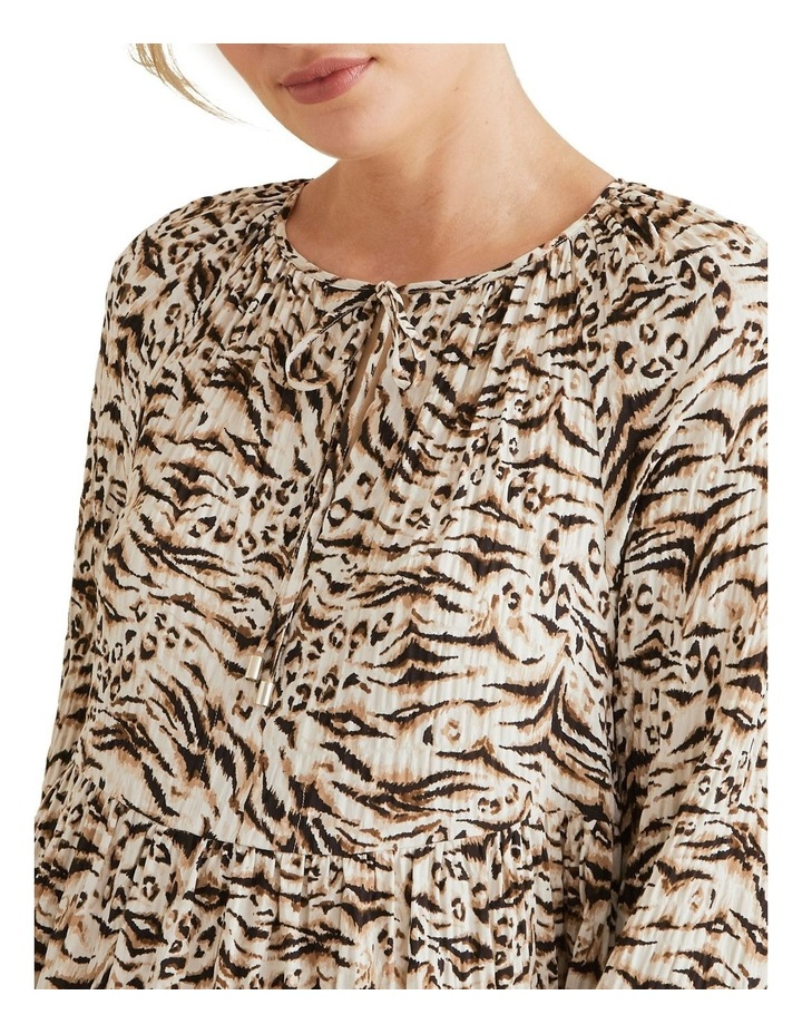 Resort Animal Print Dress image 4