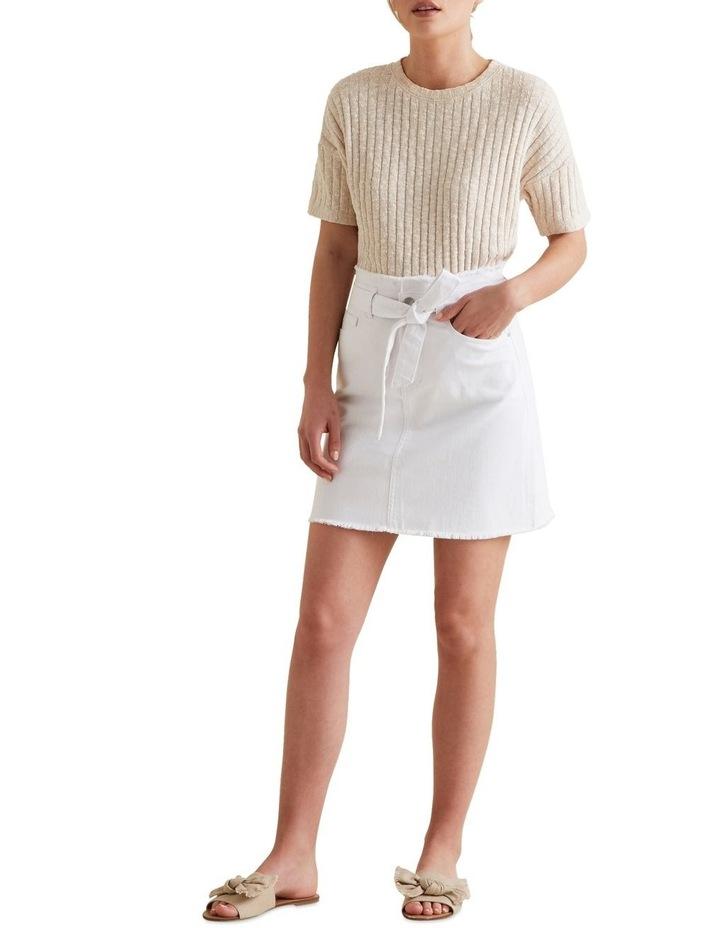 Belted Denim Skirt image 2