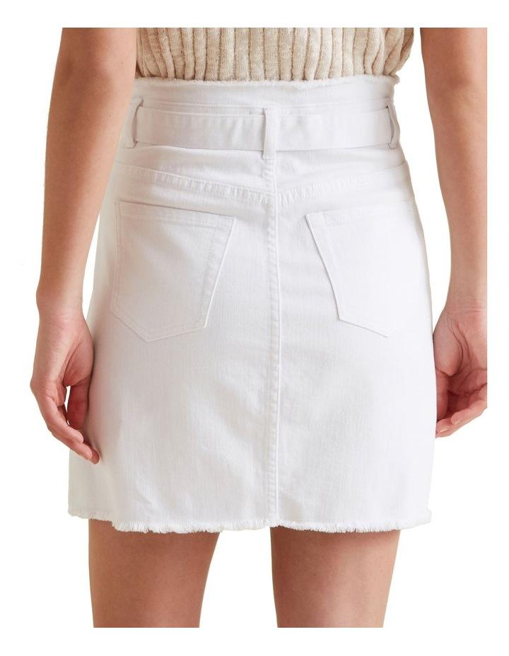 Belted Denim Skirt image 3