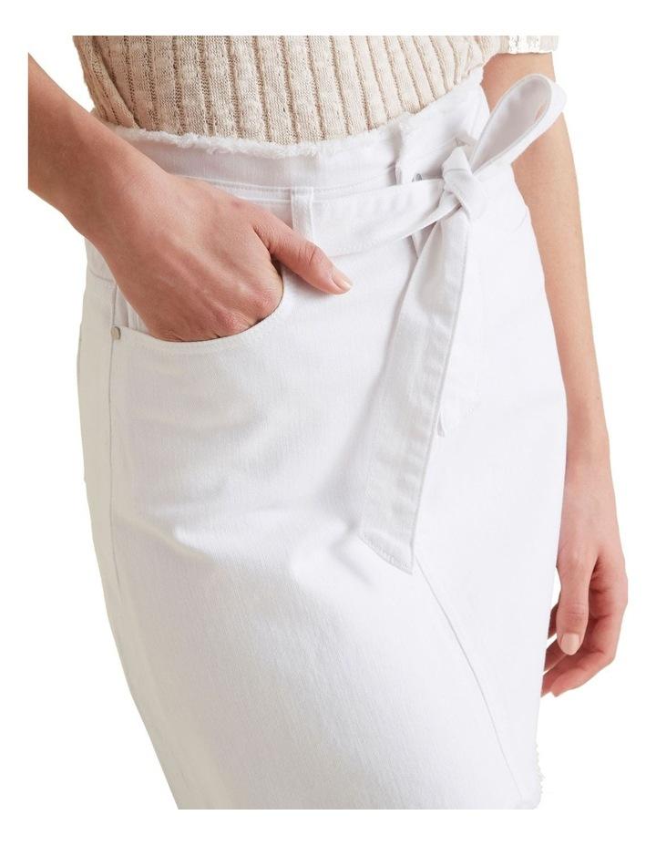 Belted Denim Skirt image 4