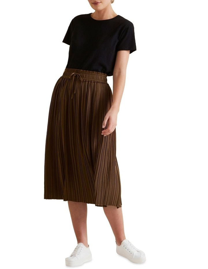 Pleat Detail Skirt image 2