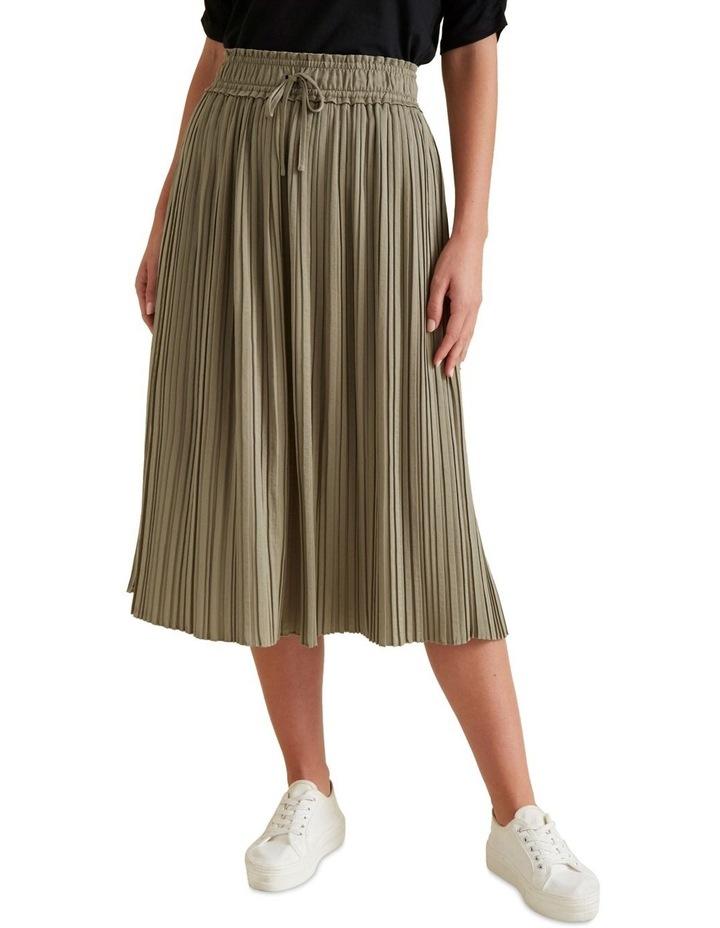 Pleat Detail Skirt image 1