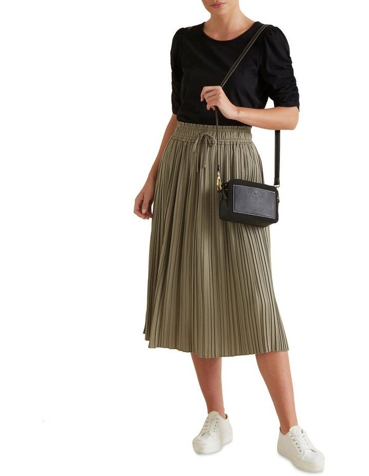 Pleat Detail Skirt image 2