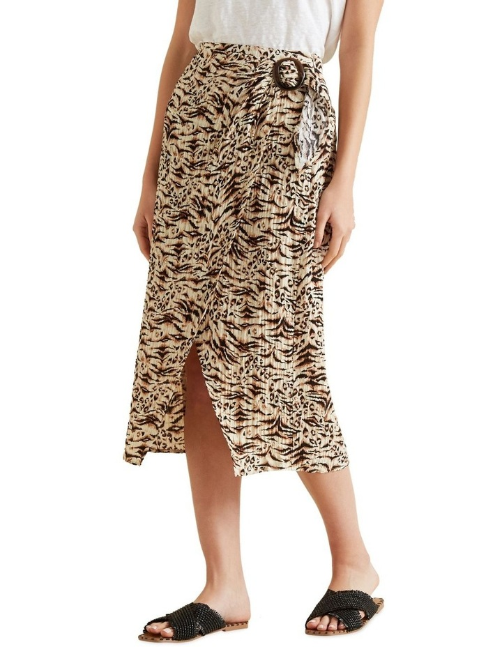 Resort Animal Wrap Skirt image 1