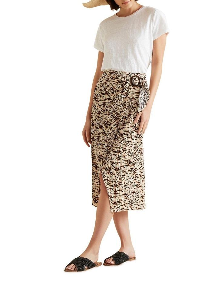 Resort Animal Wrap Skirt image 2