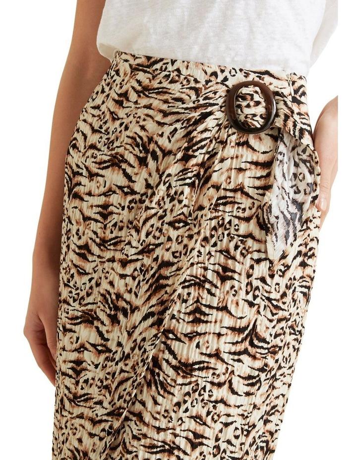 Resort Animal Wrap Skirt image 4
